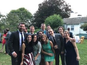 Leahy and Jared's wedding