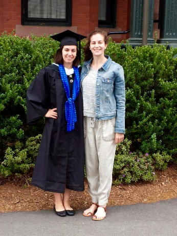 Emily graduates from Mt. Holyoke