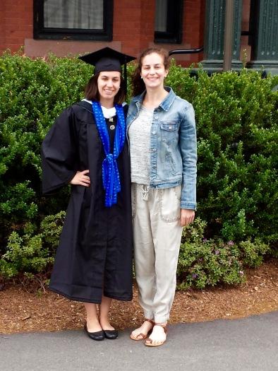 Emily graduates from Mt. Holyoke