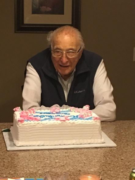 Grampy's birthday