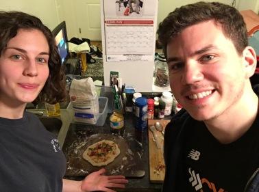 Valentine's Day Pizza Tradition