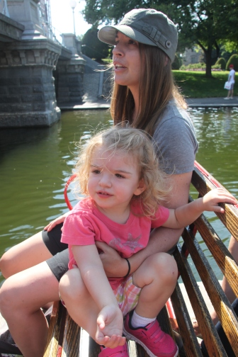 Boston day with Lily