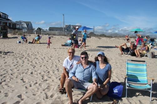 RI beach day