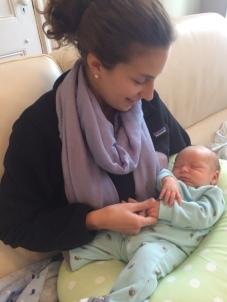 First Serio great grandchild